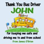 School Bus Driver Coaster